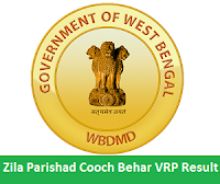 Zila Parishad Cooch Behar VRP Result