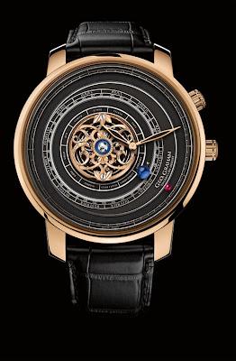 GEO.GRAHAM Tourbillon Orrery watch