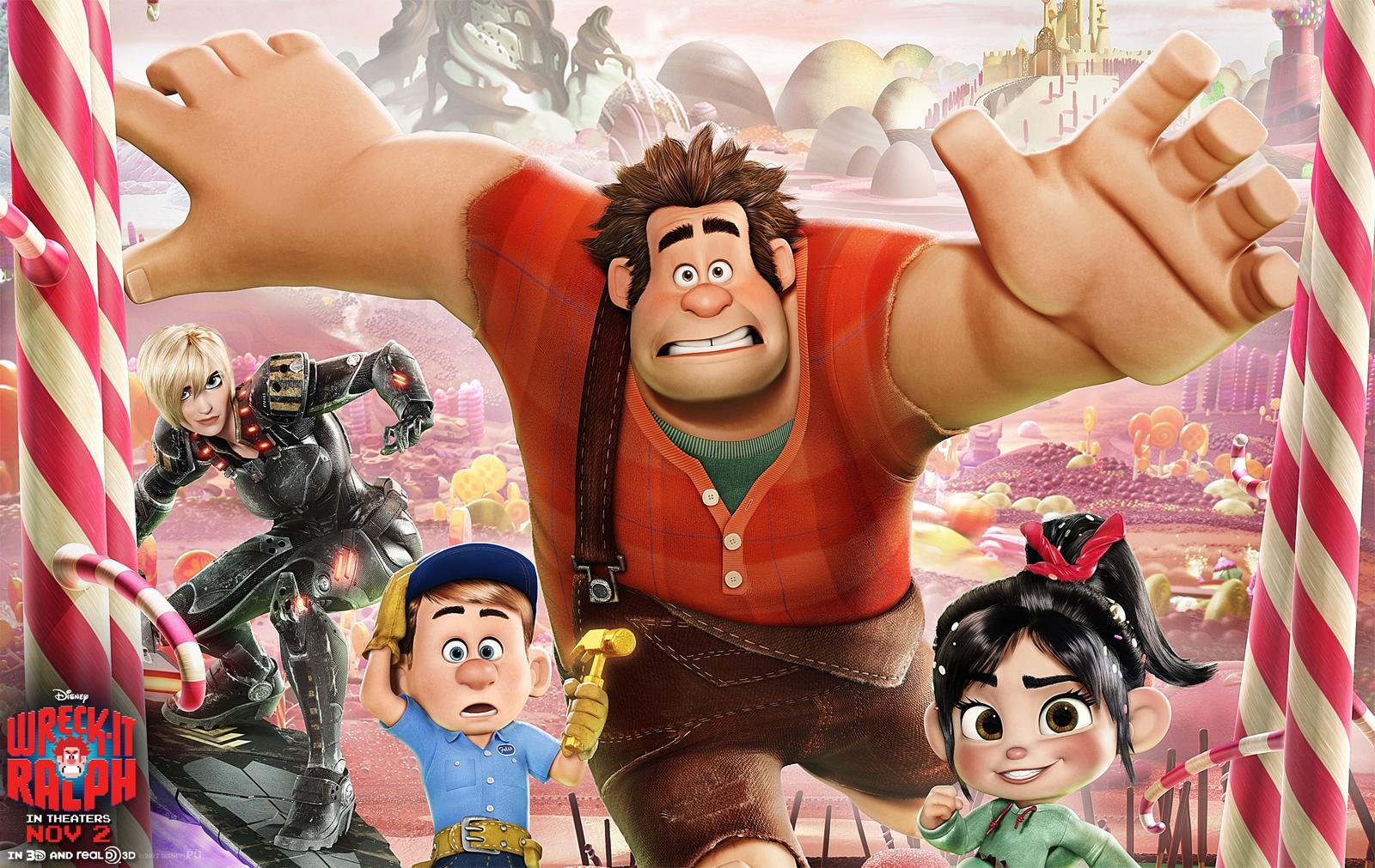 Wreck It Ralph Animation Movie 4k Hd Desktop Wallpaper For: Disney Wreck It Ralph 3D Animation HD Wallpapers