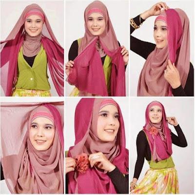 Panduan Mengenakan Jilbab Pashmina Syar'i