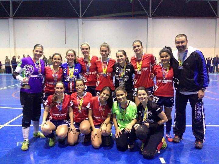 d316e77ddd Equipe da Unesp disputou sua primeira final na Série A. A equipe de futsal  feminino ...