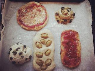 Pane, pizza e focacce con lievito madre