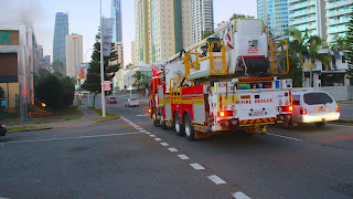 Fire Brigade Truck with Stairlift Live Photos