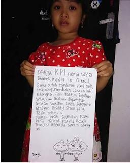 Anak-Anak Acara Gosip TV Sinetron Cinta dan KPI (Komisi Penyiaran Indonesia)