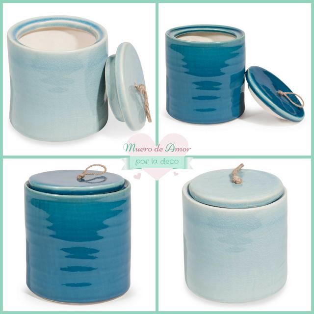 Jarrones Azules para Decorar tu Casa-Maisons Du Monde-By Ana Oval-10