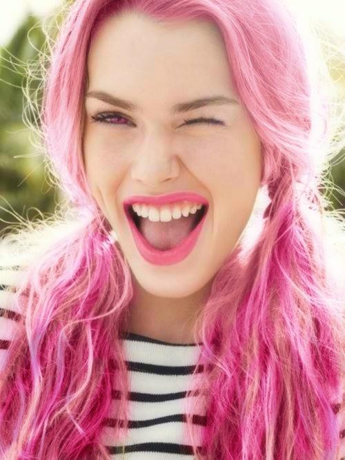 On Stage Hair Design: On Wednesdays We Wear Pink
