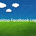 Facebook Login Desktop View