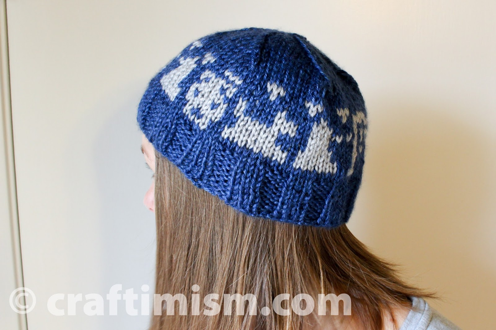Craftimism: Doctor Who inspired knit hat