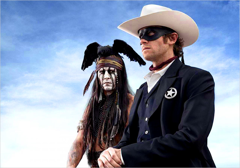 Johnny Depp as Cultural Appropriation Jack Sparrow…I mean Tonto ... c6d767c61e88