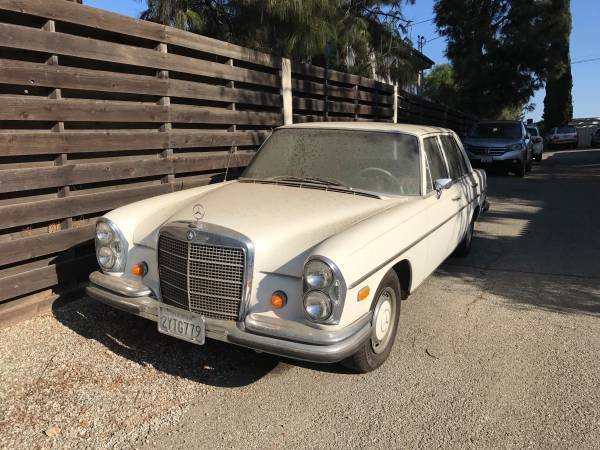 Mint Condition, 1968 Mercedes-Benz 280 S Classic