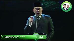 Video: Ridwan Kamil Berkaca-kaca Bahas Santri dan Pesantren