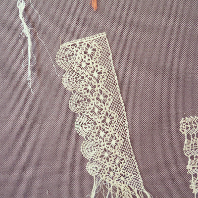 ByHaafner, bobbin lace, work in progress, lace samples, lace school, Portugal