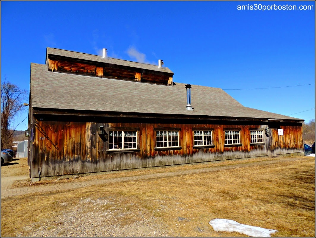Maple Sugar Season en Massachusetts: Williams Farm Sugarhouse