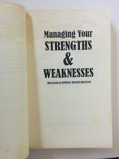 Managing Your Strengths & Weaknesses