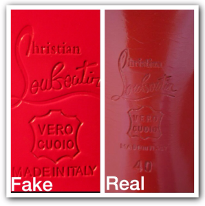 8926052659d7 2) Vero Cuoio  a Louboutin with a Vero Cuoio stamp isn t automatically fake