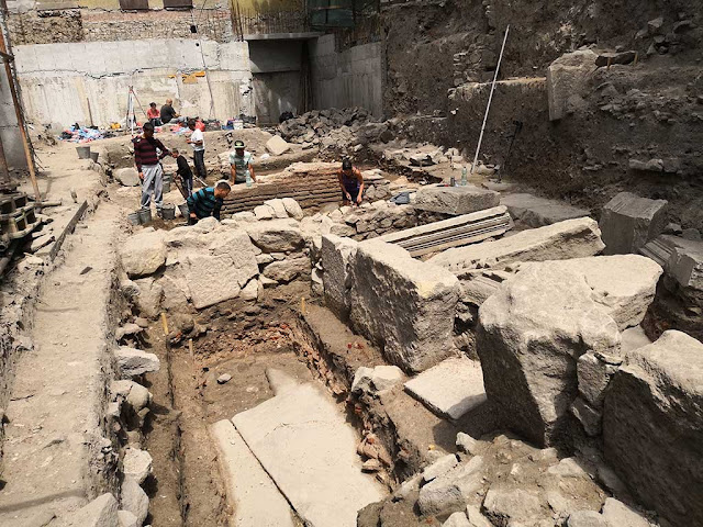 Remains of Roman Triumphal Arch found in Bulgaria's Plovdiv