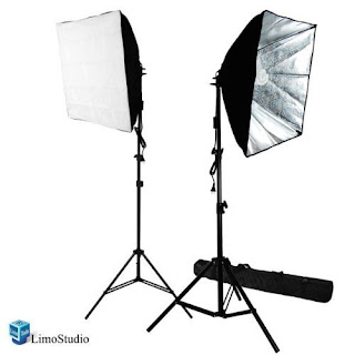 Softbox and Light for Photo and Video
