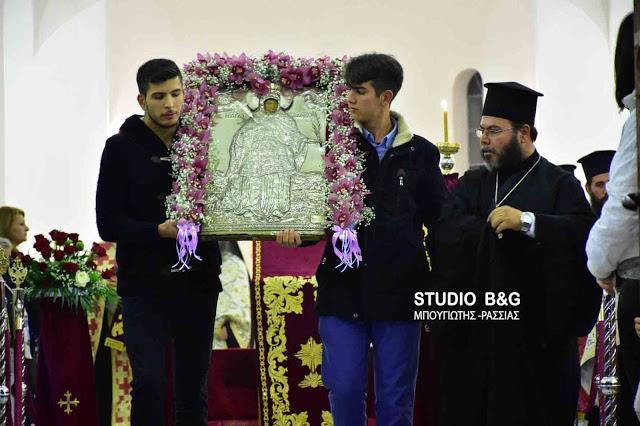 Εορτάζει ο νεοανεγερθείς Ιερός Ναός της Αγίας Βαρβάρας στο Τρίστρατο Ινάχου Άργους - Μυκηνών