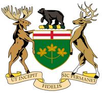 Wappen von Ontario
