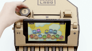 Nintendo Labo is another DIY approach to play recreations on the Switch 2018