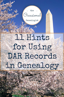 DAR records can help your genealogy research. But they can be tricky. Here are 11 hints to help you use DAR records for your family history.