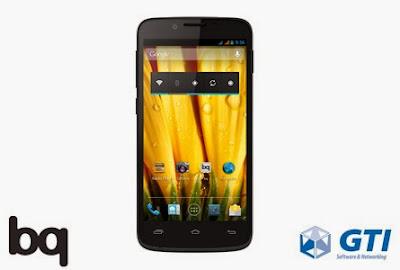 Smartphone libre BQ GTI