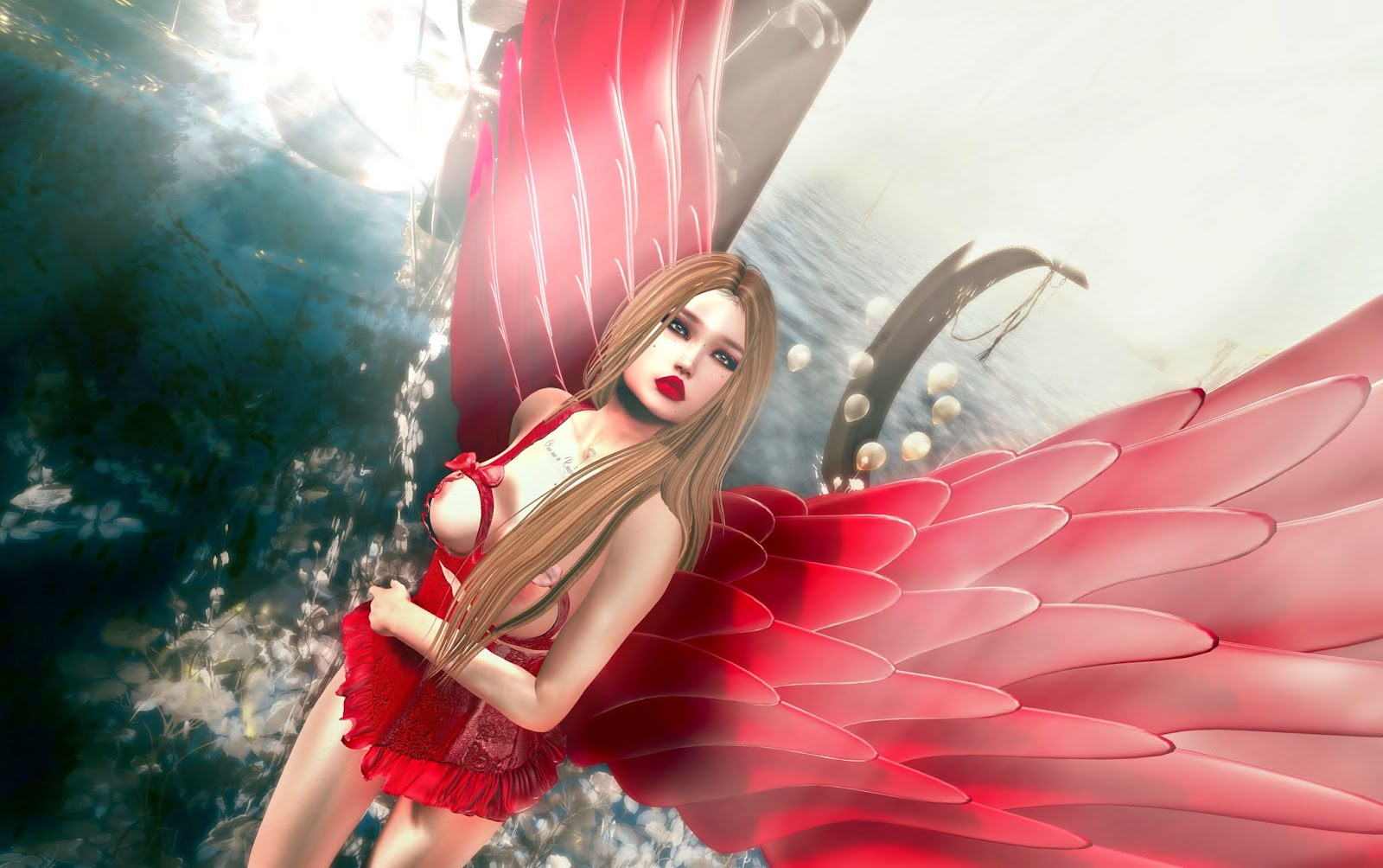 Virtual Diva Couture #25 UniK #6  Opale Hair x Montony #1