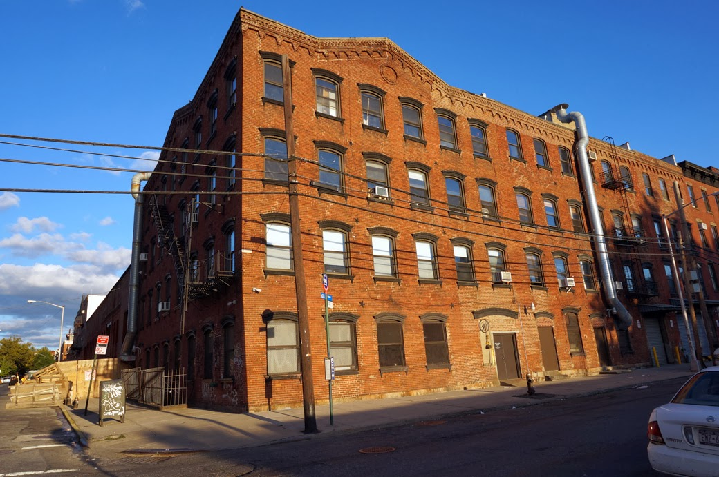 first pencil factory building in Greenpoint