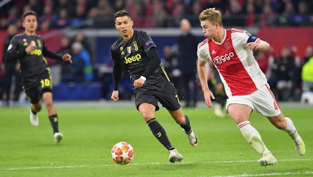 Cristiano Ronaldo Juventus Vs Ajax