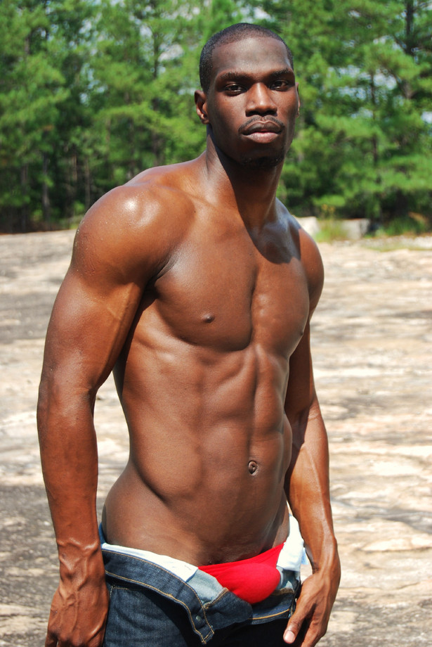 Hot black gay men naked