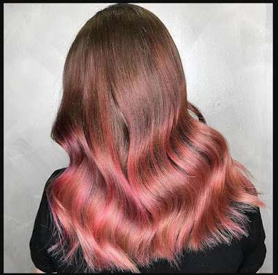 Rose-Gold-For-Dark-Hair-Dream-Dip-Dye