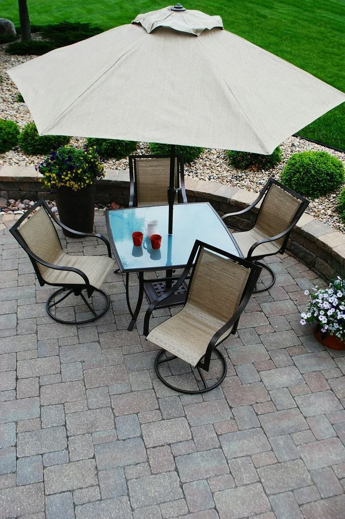6 Pc Patio Set With Umbrella: Outdoor Furniture Blog: How To Choose Outdoor Furniture In