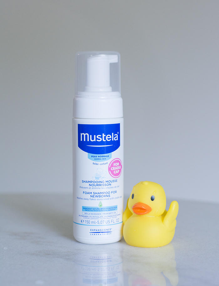 Mustela - cradle cap shampoo for newborns