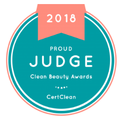 Proud Cert Clean Beauty Awards Judge