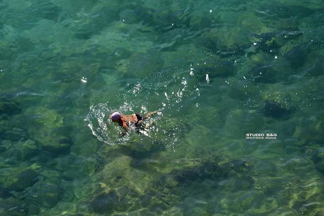 Ασυνήθιστα κρύα τα νερά της θάλασσας και στην Αργολίδα - Που οφείλεται το φαινόμενο;