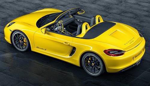 Porsche Boxster S Racing Yellow