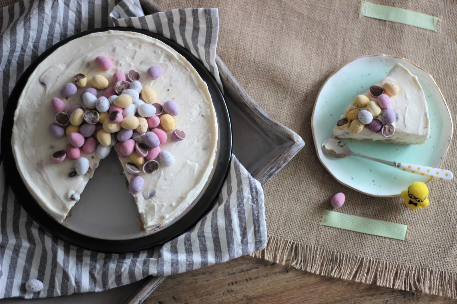 no-bake-mini-egg-cheesecake