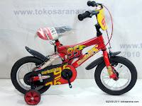 1 Sepeda Anak Everbest 12-3350 Cars 12 Inci