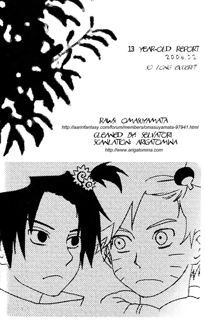 Hình ảnh  NaruSasu4ever %2525252013%25252520Year old%25252520Report 001 in Naruto Doujinshi - White paper