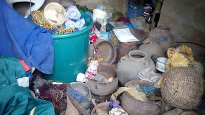 7 - Fake prophetess Bursted, See What Was Found In Her church in Akwa Ibom (See Photos)