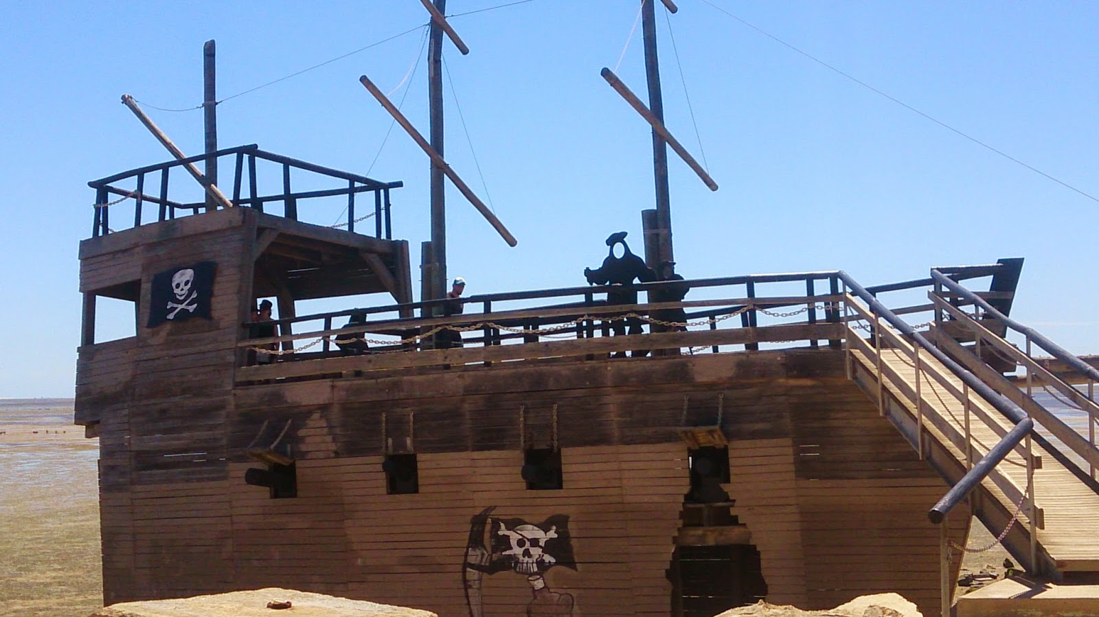 St Kilda Playground Pirate Ship