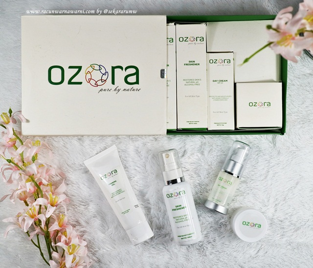 Review Ozora Brightening Series Skincare
