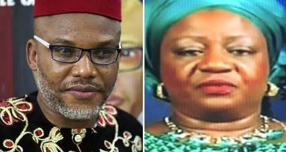 """Due Process Will be Followed in Dealing With 'LITTLE' Nnamdi Kanu"" – Lauretta Onochie"