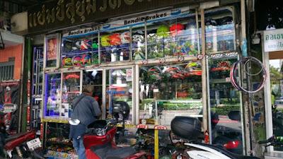 タイのバイクパーツ屋