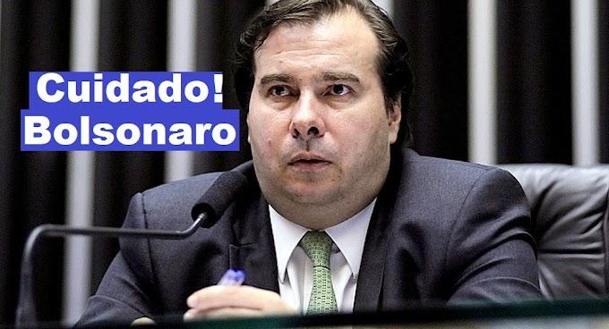 Rodrigo Maia peita Bolsonaro e quer interferir em Ministério da agricultura