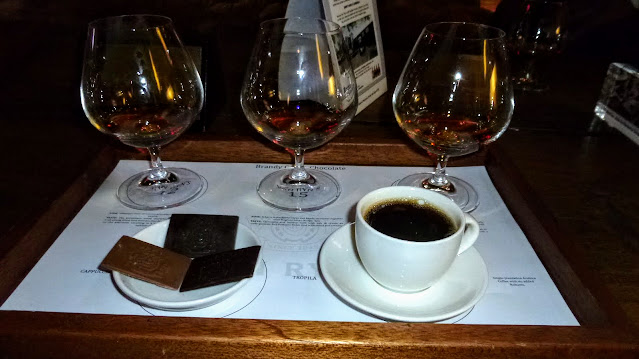 Brandy, chocolate, and coffee tasting at Van Ryn's Brandy Distillery in Stellenbosch South Africa
