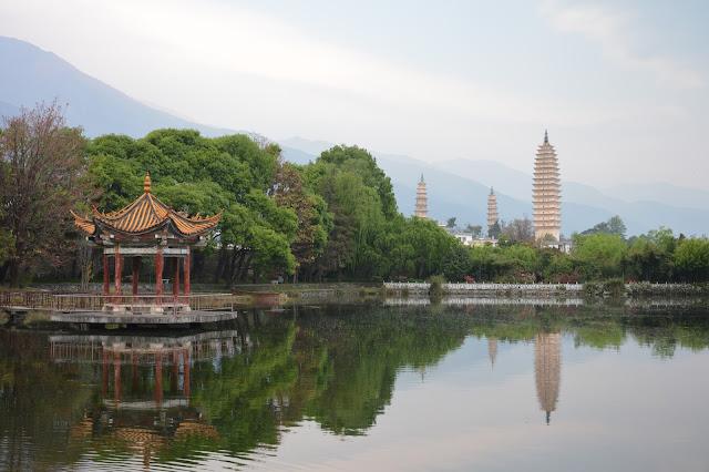 Trois pagodes à Dali