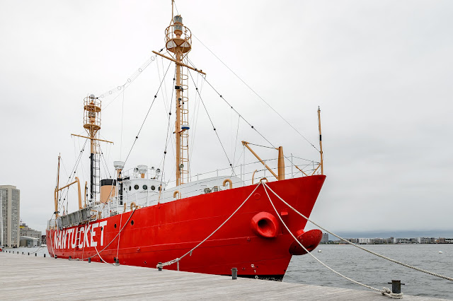 Nantucket Lightship in Boston