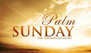 Palm Sunday Bible verses 2018