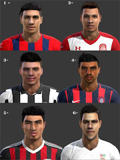 Facepack Sudamericanas 2016 Pes 2013